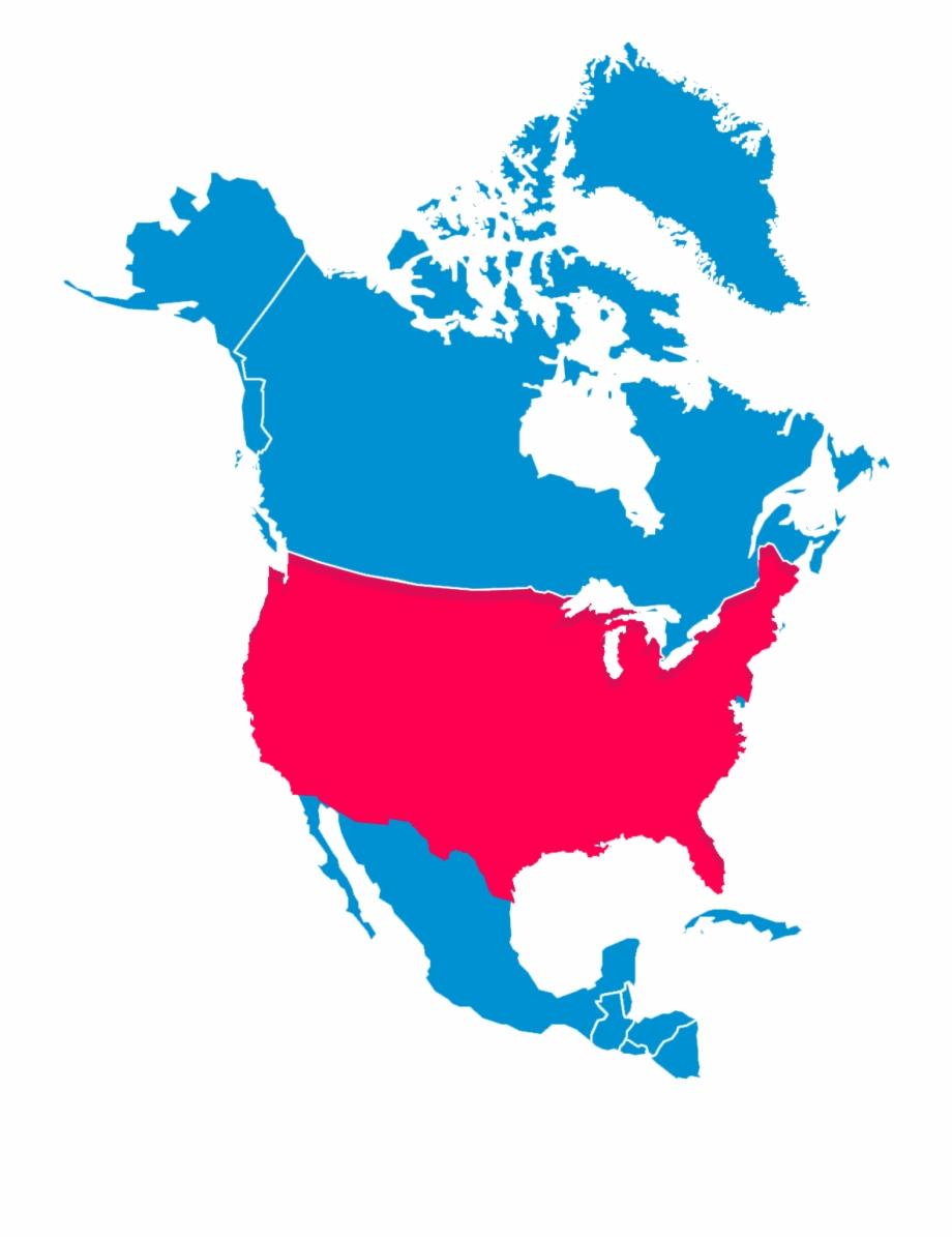 North America Usa.