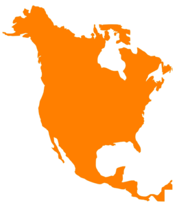 North America Map Clip Art at Clker.com.