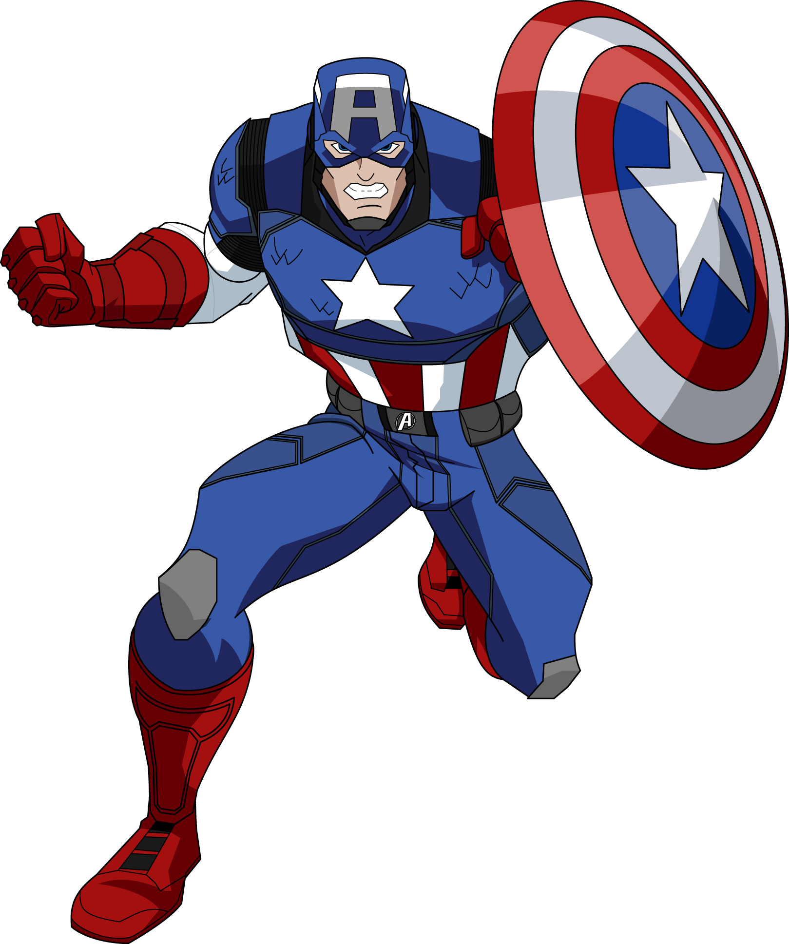 Free Pictures Captain America Clipart #32574.
