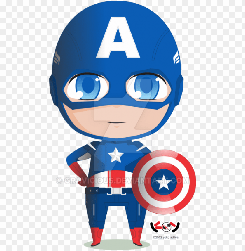 cute clipart captain america.