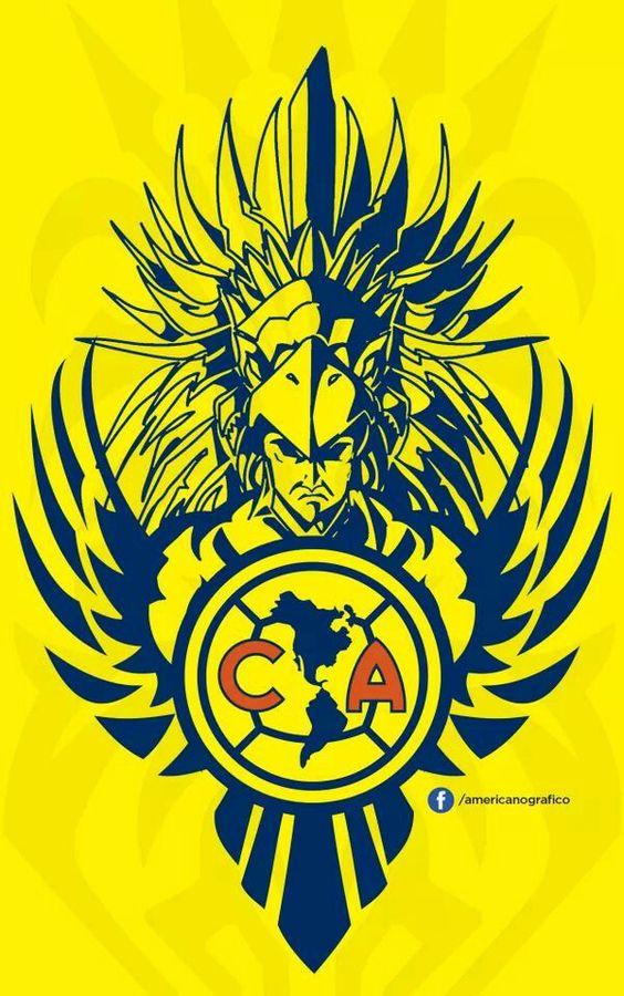 America mexican soccer team Logos.
