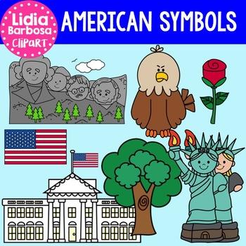 American Symbols Clipart.