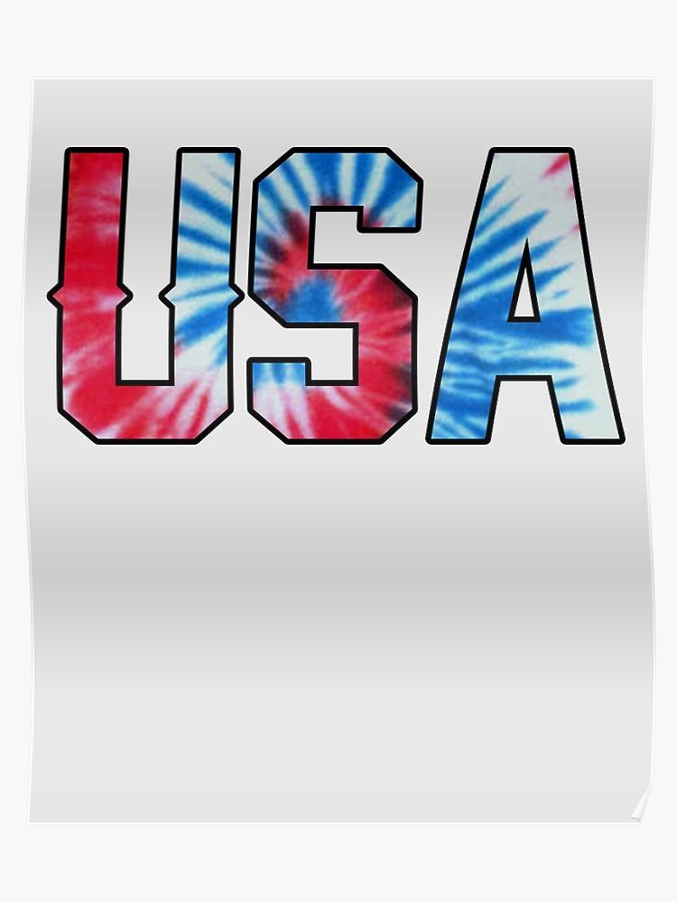 USA Tie Dye.