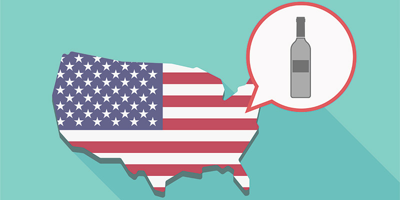 America Drank 4.24 Billion Bottles of Wine in 2016.