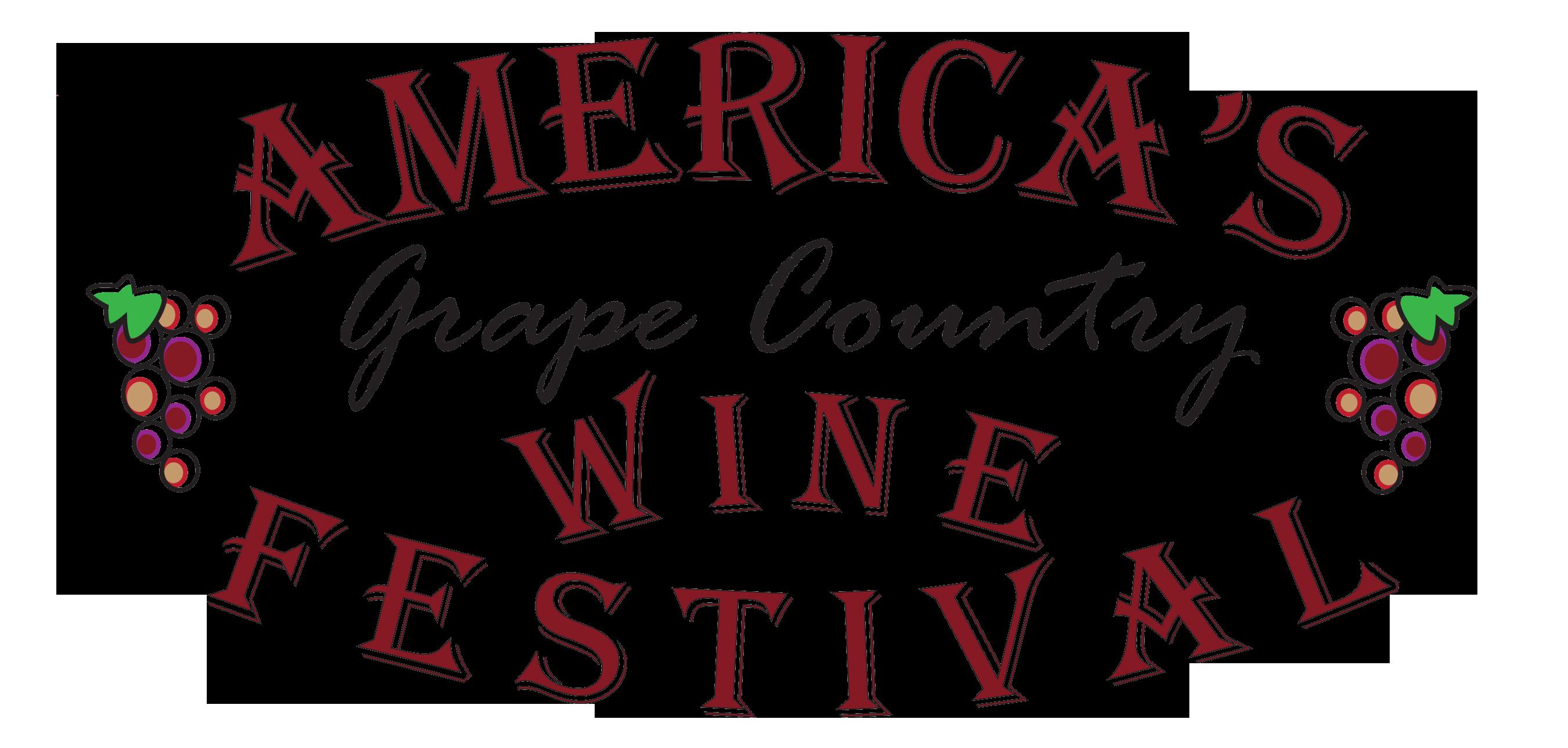 America's Grape Country Wine Festival.