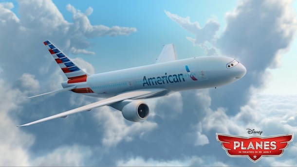 American Airlines to Make a Cute Cartoon Cameo in Disney's New.