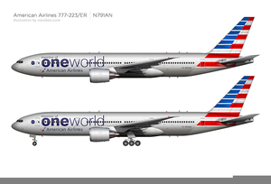 American Airlines Clipart.