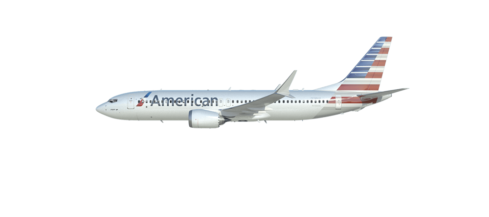 American Airlines cancels 737 MAX flights through August 19.