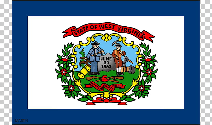 Flag of West Virginia Flag and seal of Virginia , Wv s PNG.