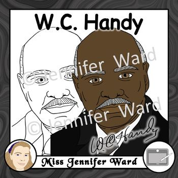 W.C. Handy Clipart.