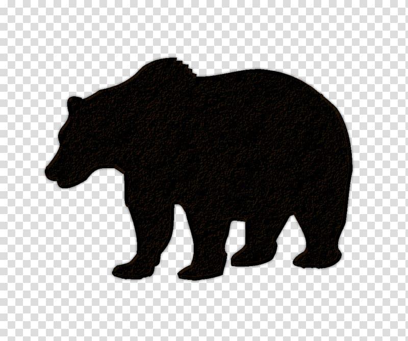 American black bear Polar bear Brown bear, bears transparent.