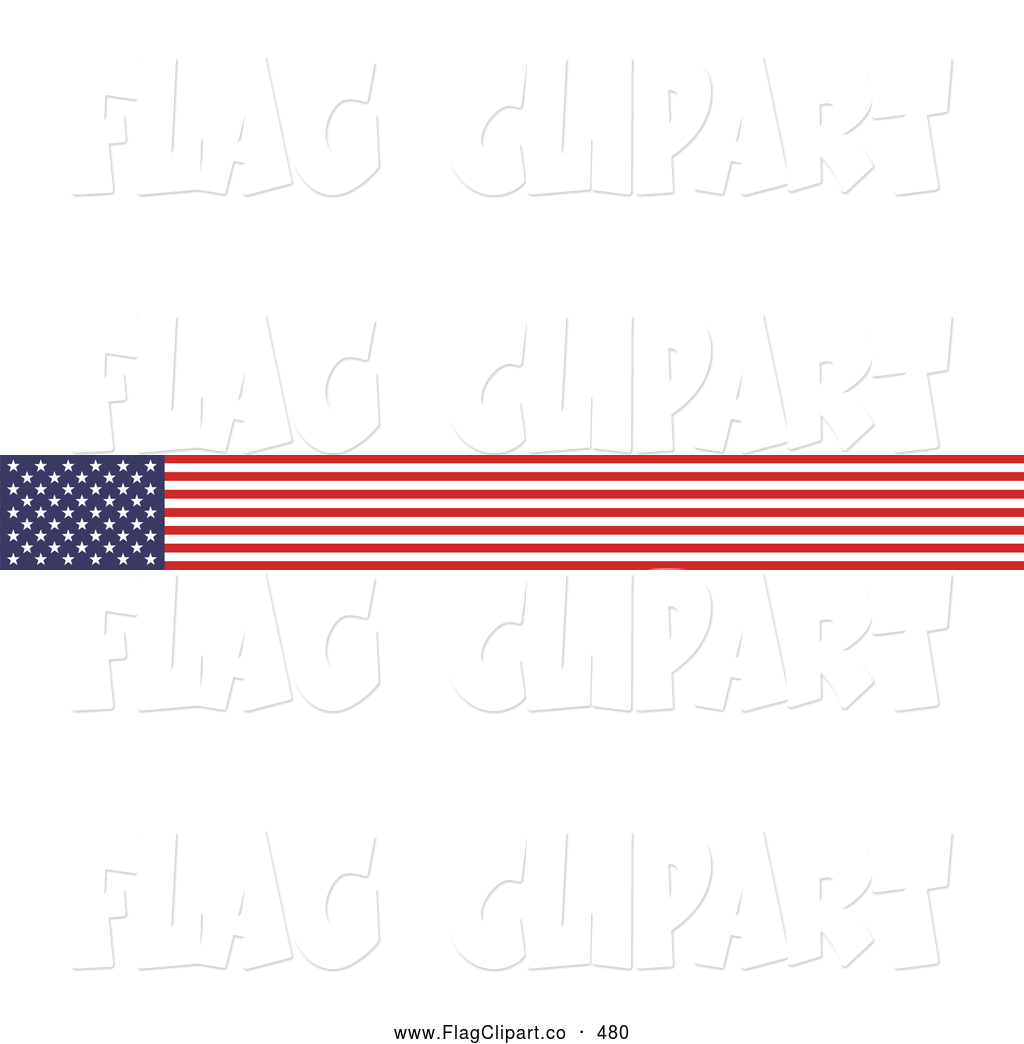 American Flag Border Clipart Free.