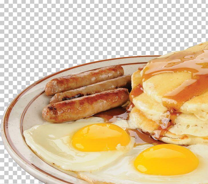 Breakfast Sausage Pancake Scrambled Eggs Toast PNG, Clipart.