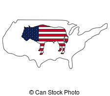 American buffalo Illustrations and Clip Art. 634 American buffalo.