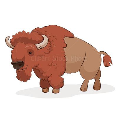 American buffalo clipart.