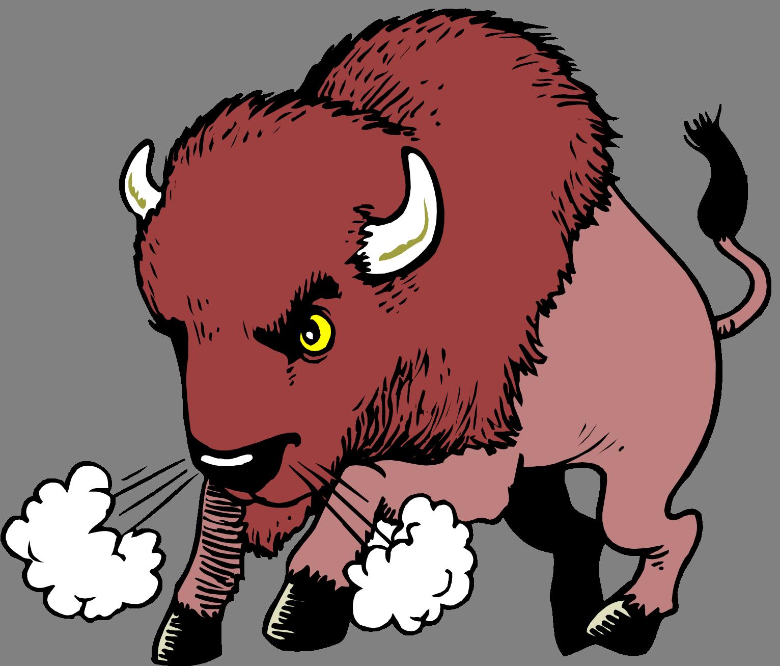 Water buffalo American bison Clip art.
