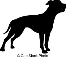 American bulldog Clipart Vector and Illustration. 124 American.