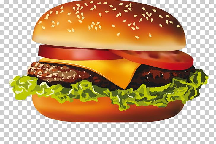McDonalds Hamburger Hot Dog Cheeseburger Veggie Burger PNG.