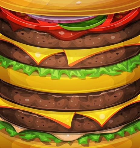 American Burger Background.