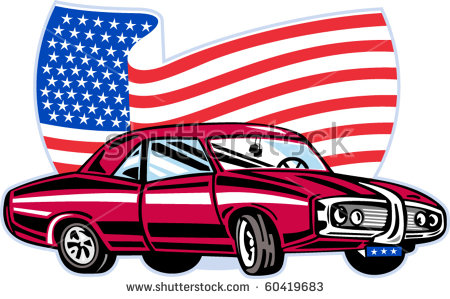 Old American Car Vector Stock Vector 28203799.