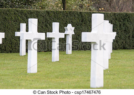 Picture of American cemetery Flanders field world war one Belgium.