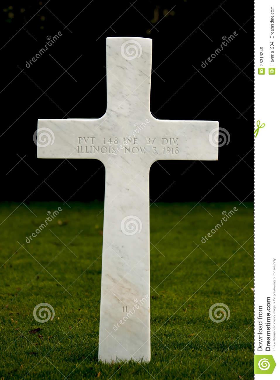 World War I American Cemetery Flanders Field Belgium Waregem.
