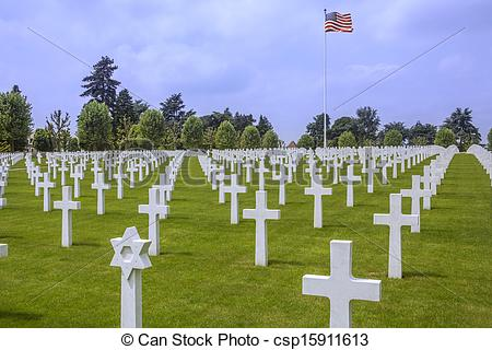 Stock Photography of War Cemetery.