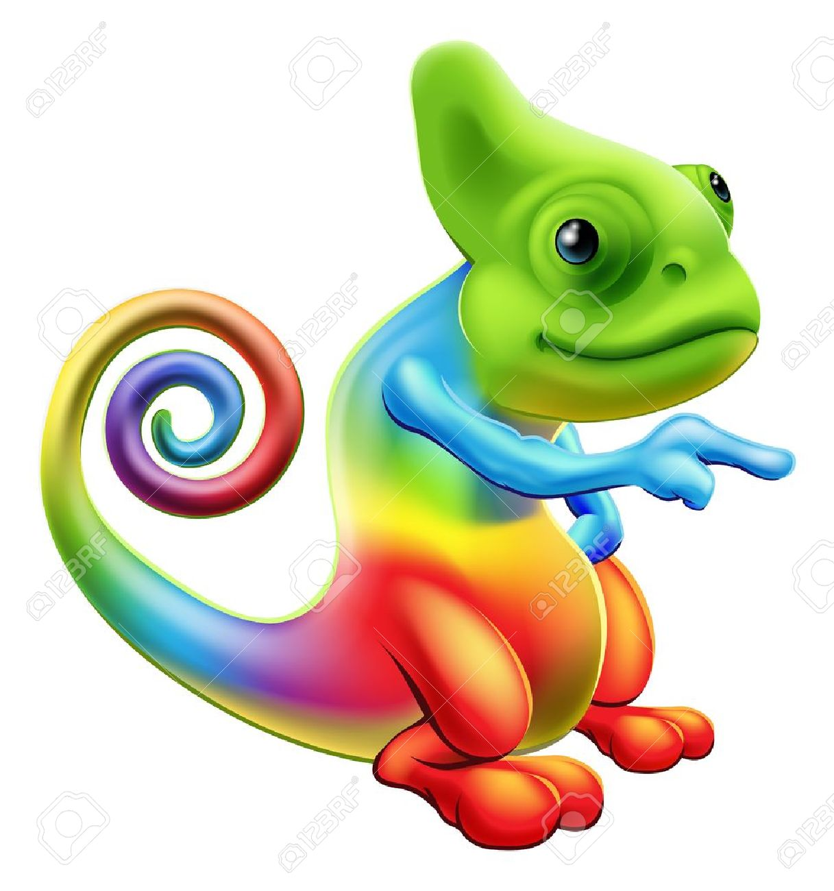 3,164 The Chameleon Stock Vector Illustration And Royalty Free The.