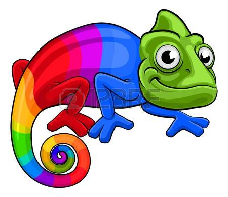 844 Colorful Chameleon Stock Vector Illustration And Royalty Free.