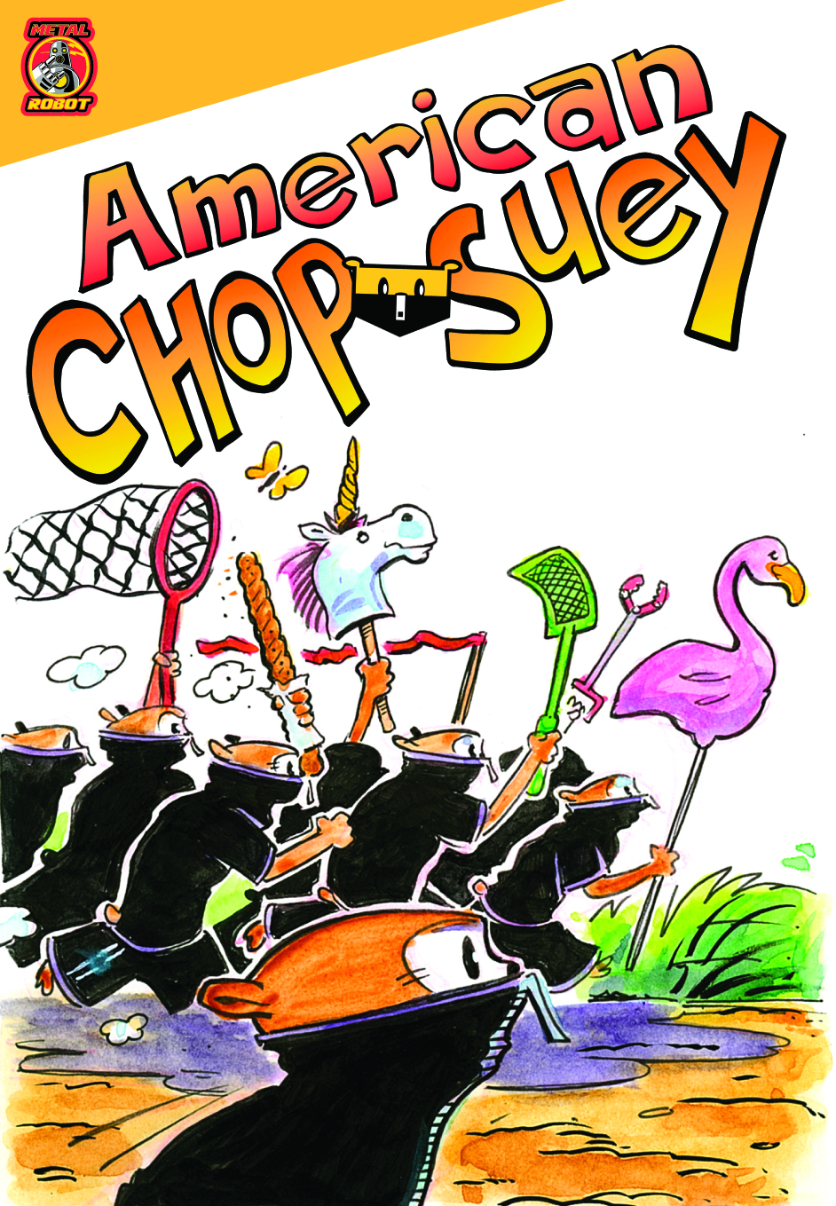 Read American Chop Suey from Metal Robot free on Graphite.