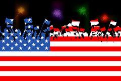 American Citizen Stock Illustrations.