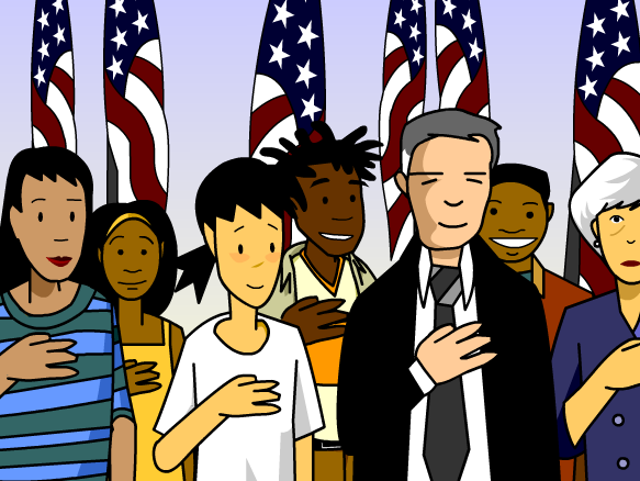 United States Citizenship Clipart.