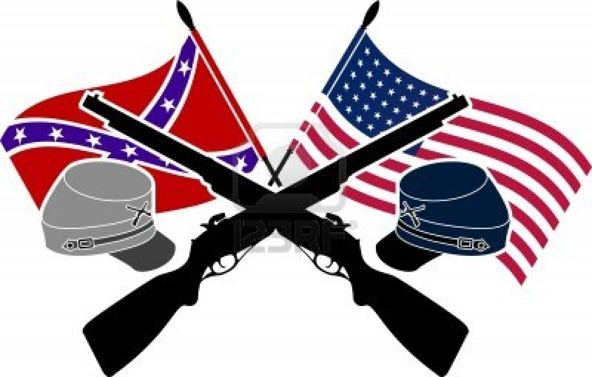 American Civil War Clipart.