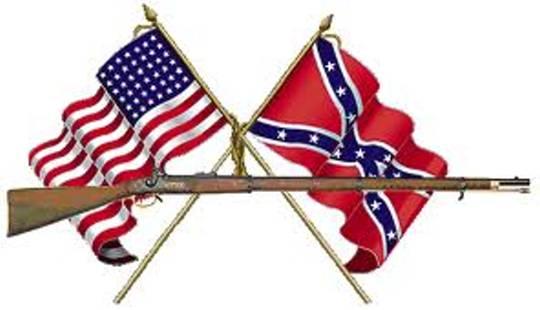 American civil war clipart.