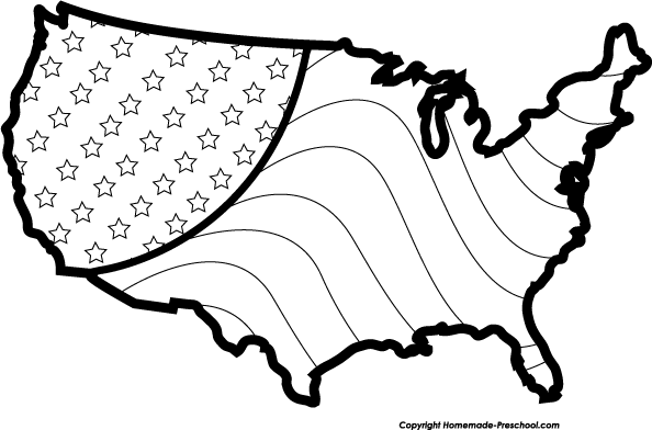 Free Patriotic Clipart Black And White, Download Free Clip.