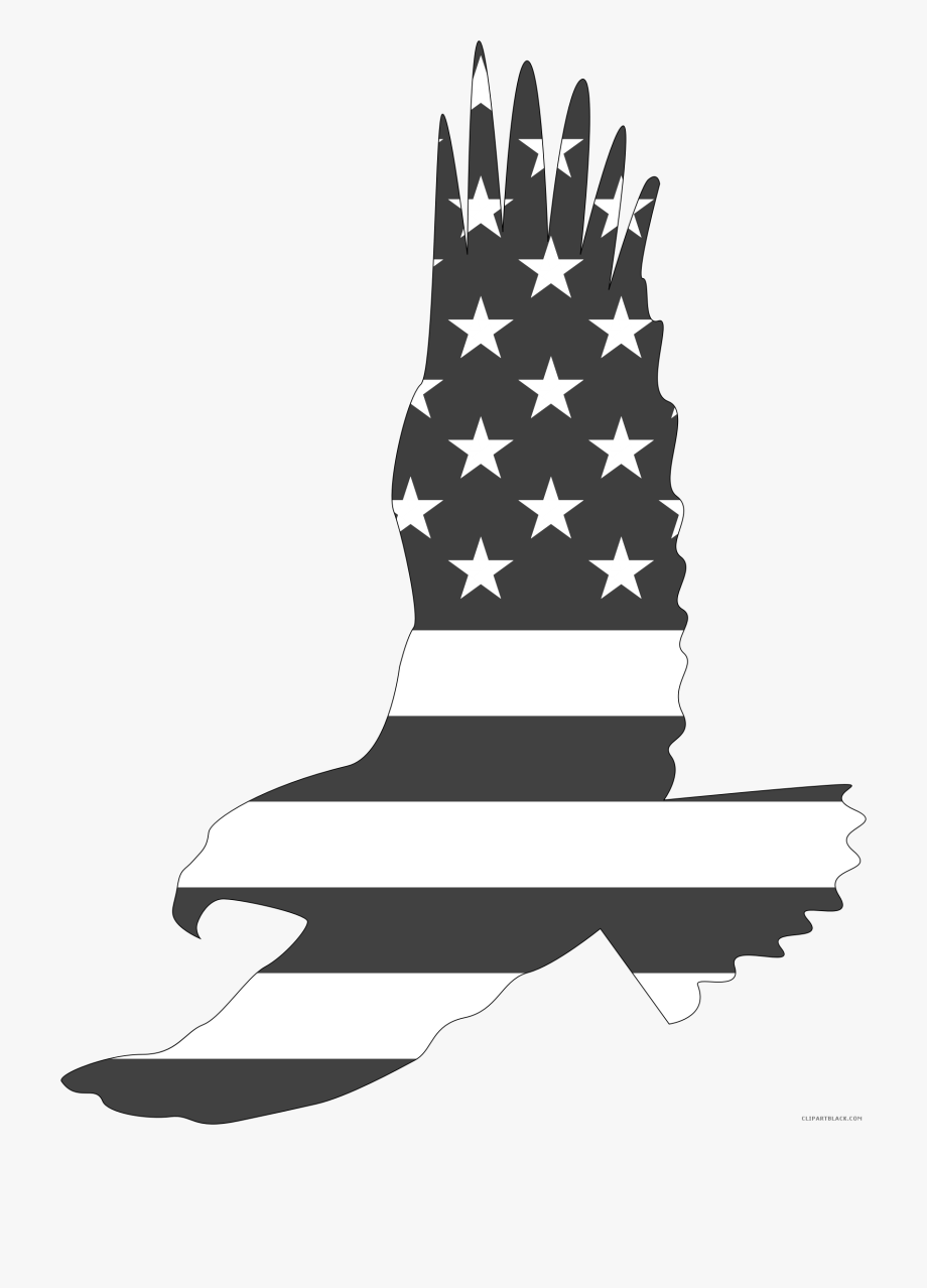 American Eagle Animal Free Black White Clipart Images.