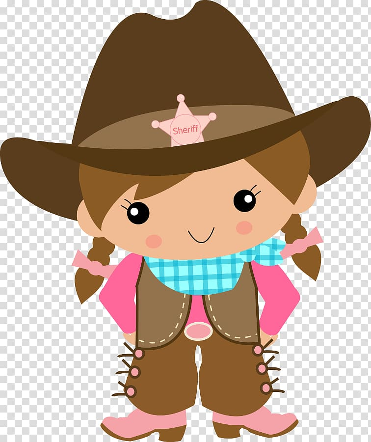 American frontier Cowboy Vaquero , CowGirls transparent.