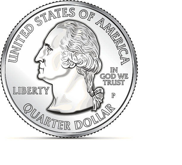 Best Us Coins Illustrations, Royalty.