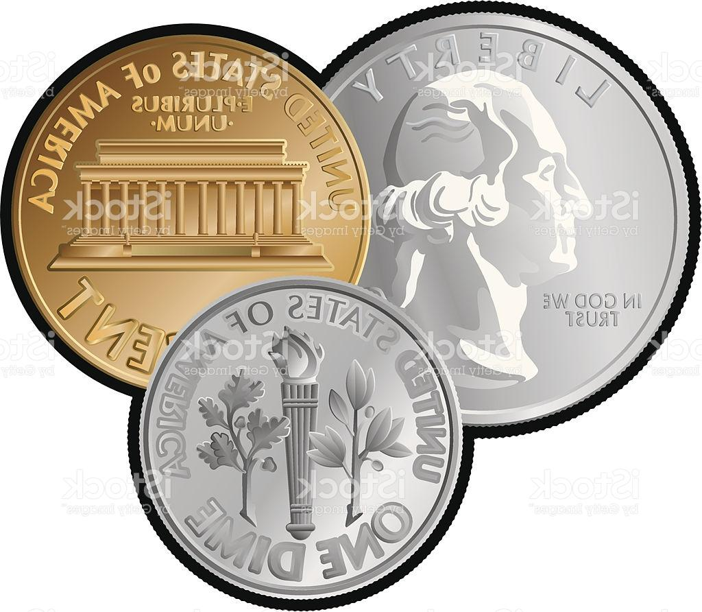 HD Us Coins Clip Art Vector File Free » Free Vector Art, Images.