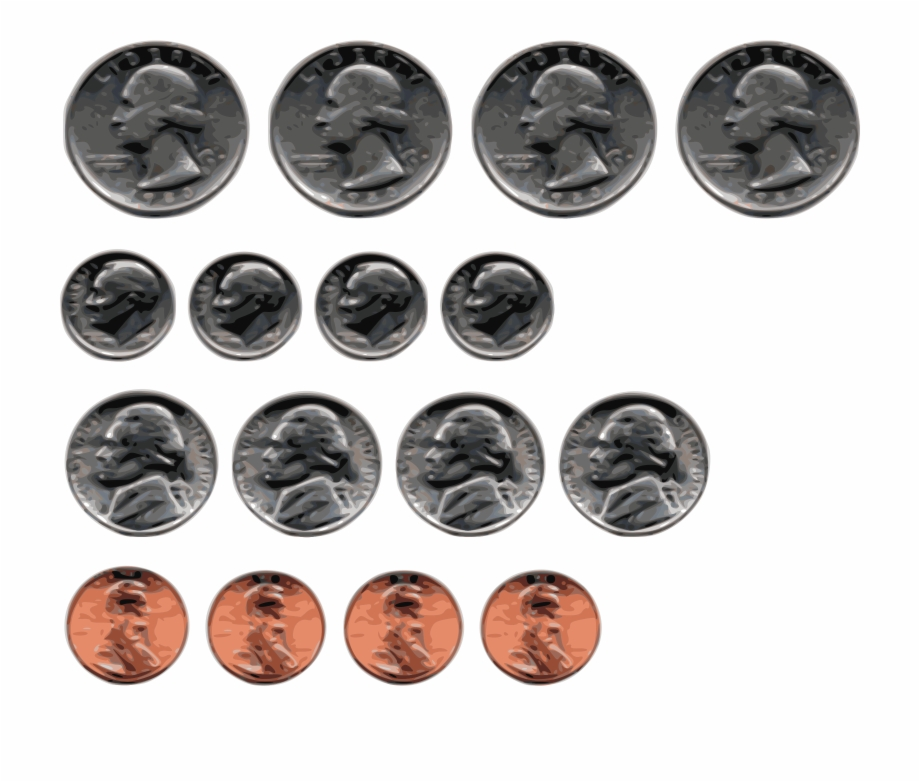 This Free Icons Png Design Of Us Coins.