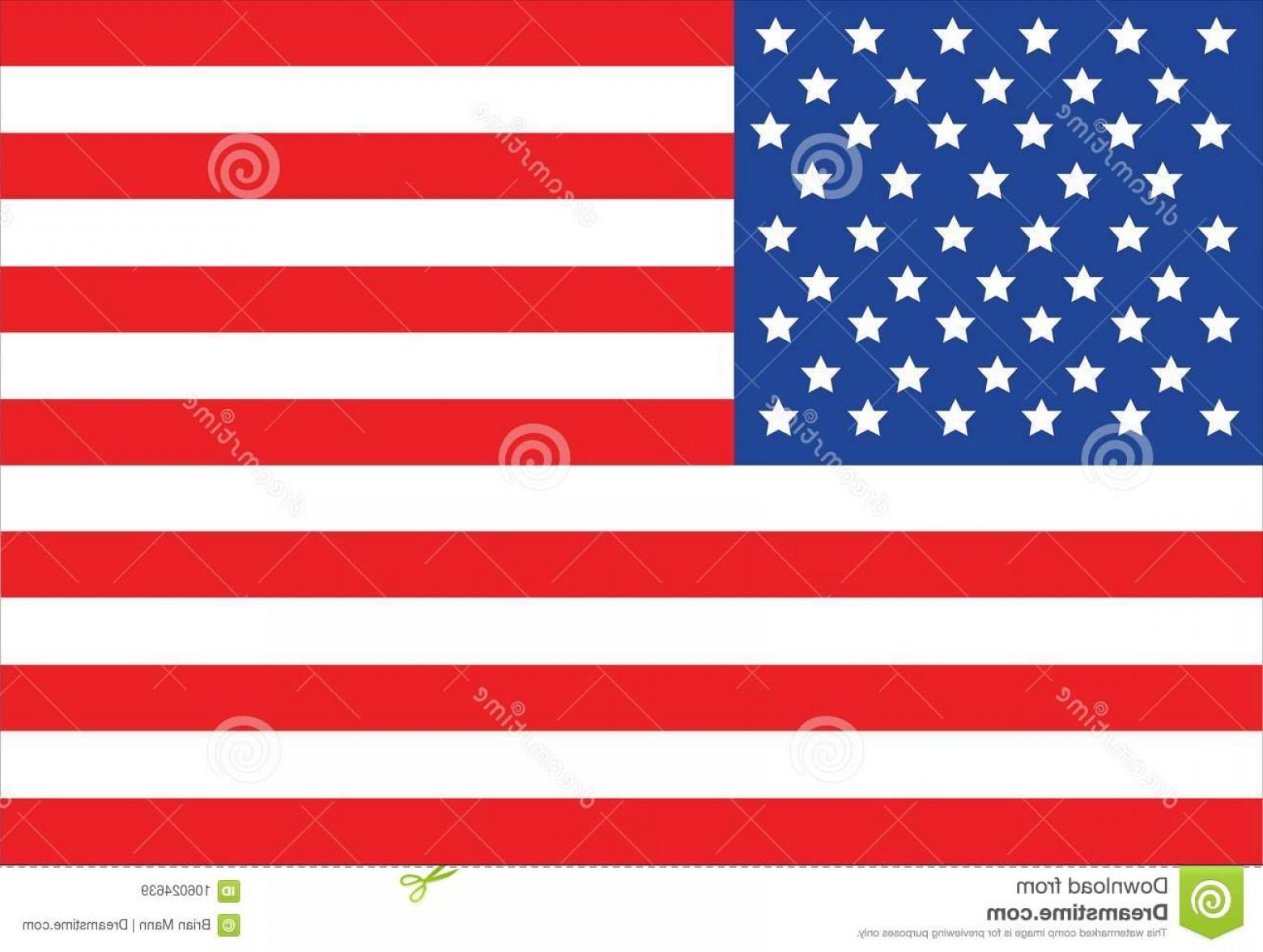 American Flag Vector 13.