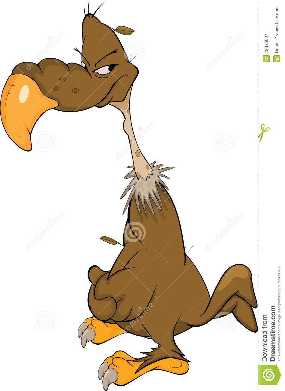 American Condor.Cartoon Royalty Free Stock Photography.