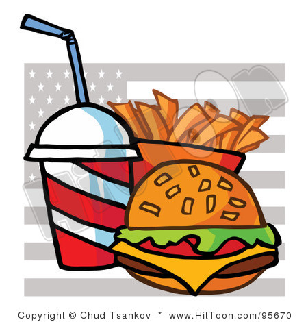 America Food Clipart.