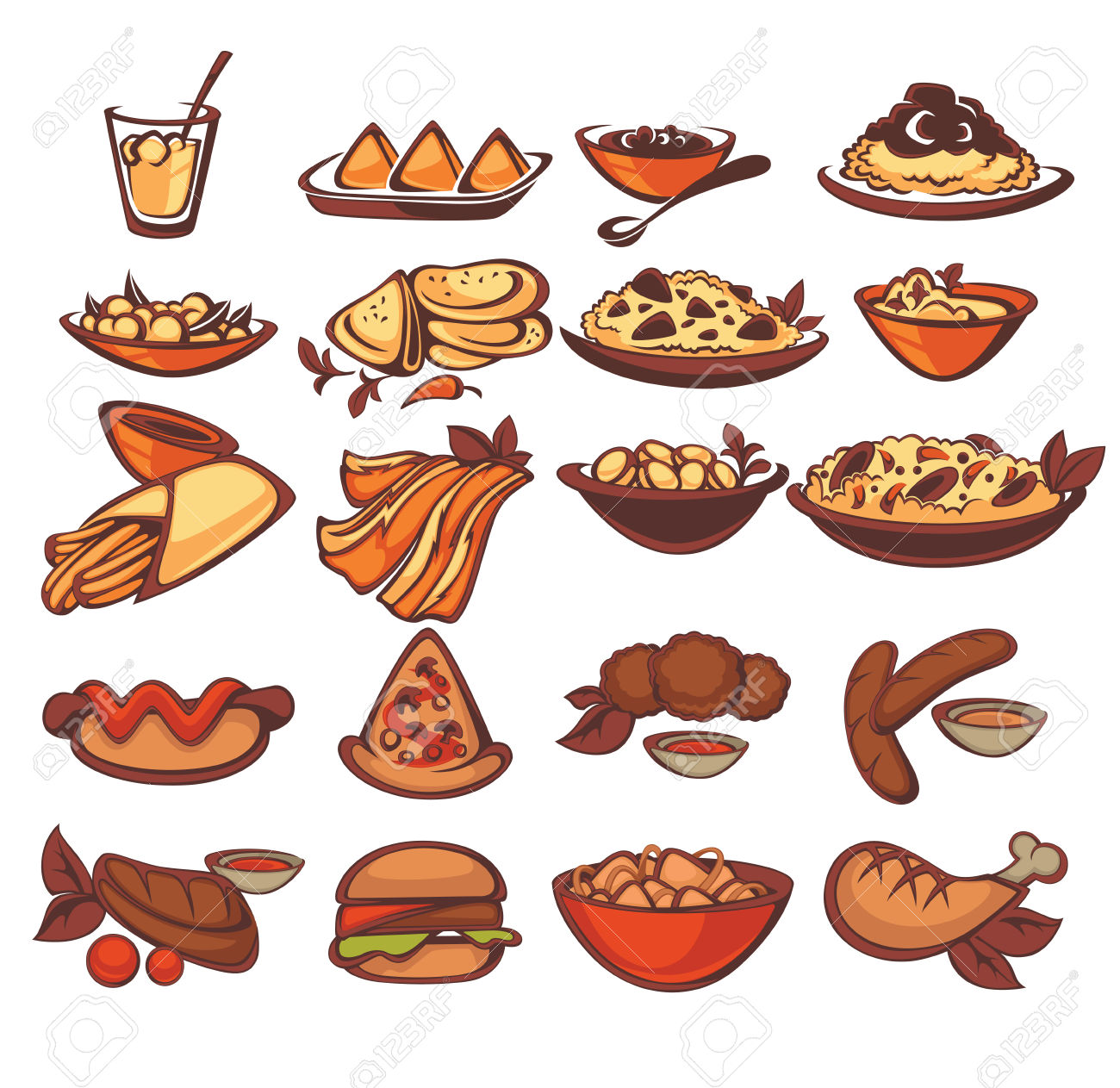 31678 Food free clipart.