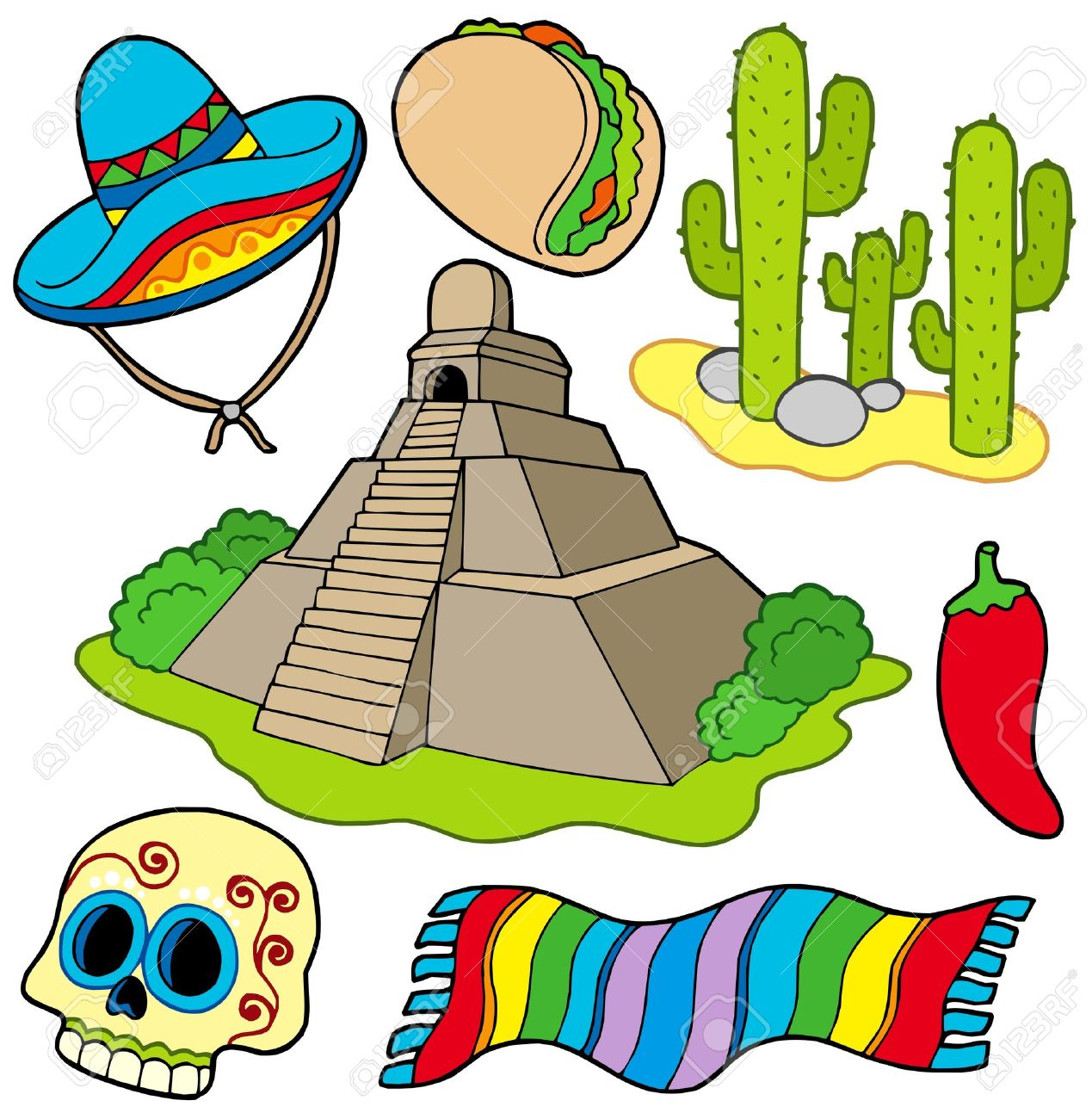 mexican images clipart #10