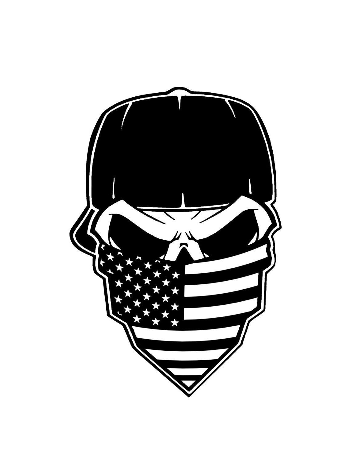 Bandana clipart skull, Bandana skull Transparent FREE for.