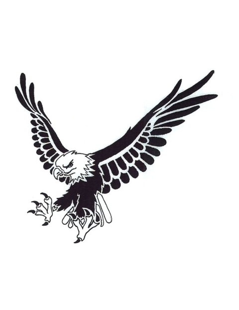 Free Black And White Eagle, Download Free Clip Art, Free.