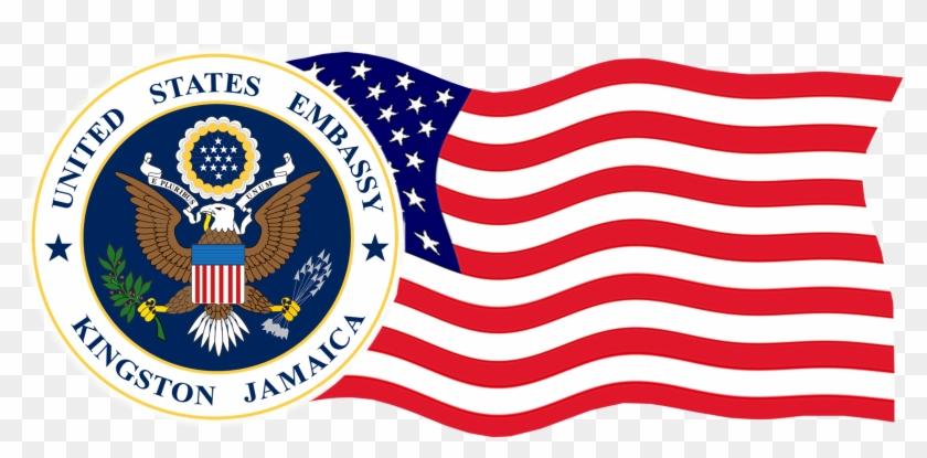 Us Embassy Kingston Logo.