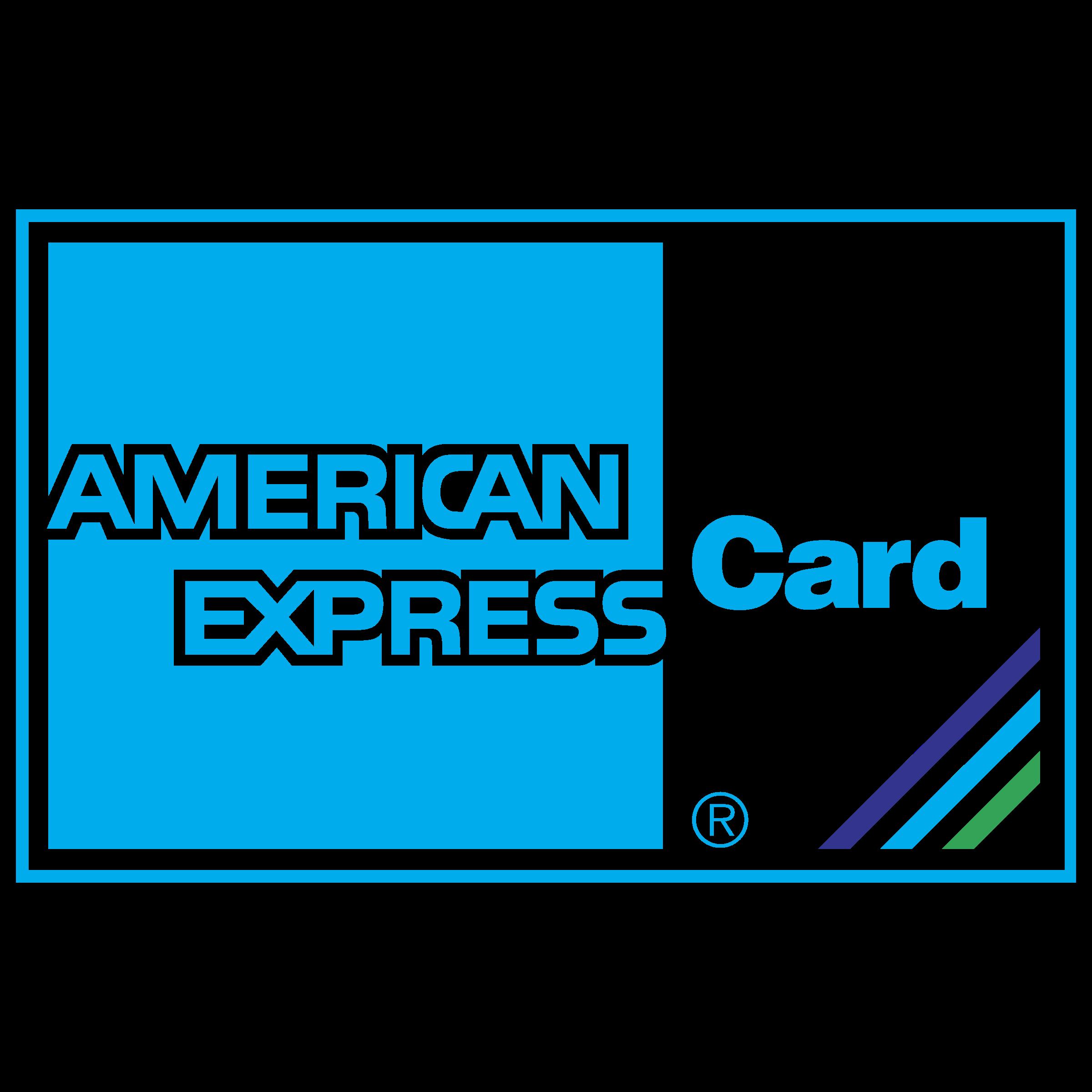 American Express Card Logo PNG Transparent & SVG Vector.