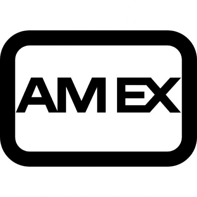 American express logo Icons.